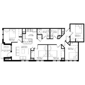 Five Bedroom - Style B