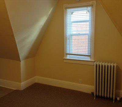 Bedroom Small Window and Radiator