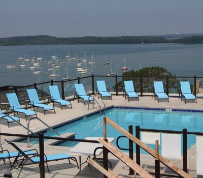 Clean Community Pool for Waterfront Residents