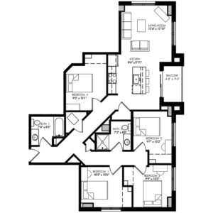 Four Bedroom - Style G