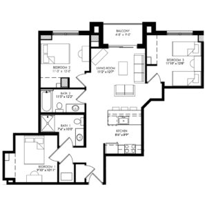 Three Bedroom - Style H