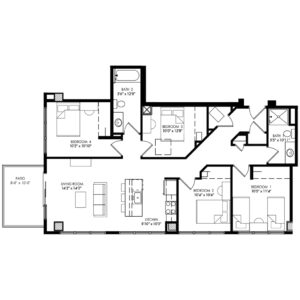 Four Bedroom - Style Q
