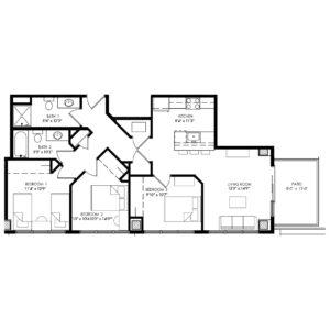 Three Bedroom - Style R
