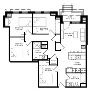 Four Bedroom - Style W