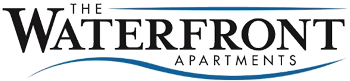 The Waterfront apartment site logo