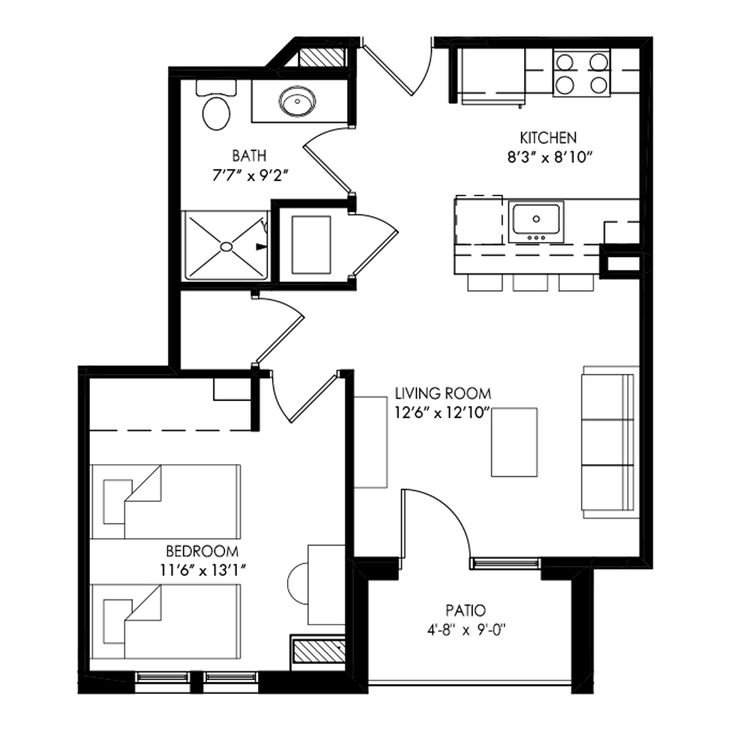One Bedroom - Style Y