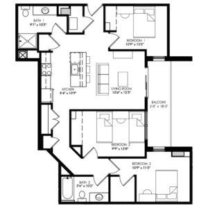 Three Bedroom - Style Z